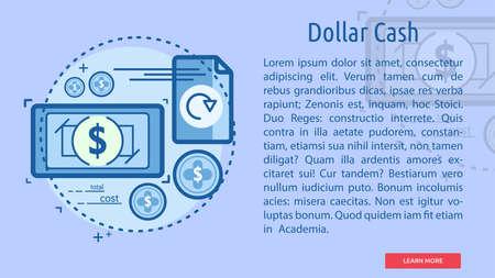 Dollar Cash Conceptual Banner