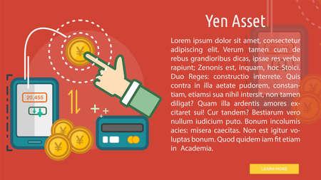 Yen Yen concettuale design Archivio Fotografico - 82873257