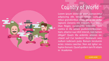 Country of World Conceptual Design