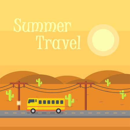 여름 여행 배경 스톡 콘텐츠 - 83345960