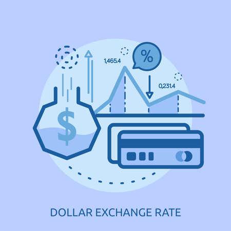 ドルの為替レートの概念設計
