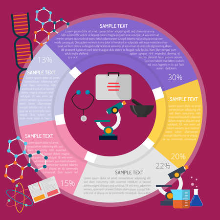 Analysis Infographic illustration.