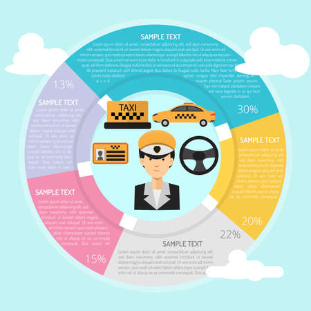 Taxi Driver Infographic