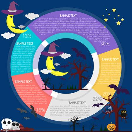 Halloween Night Infographic