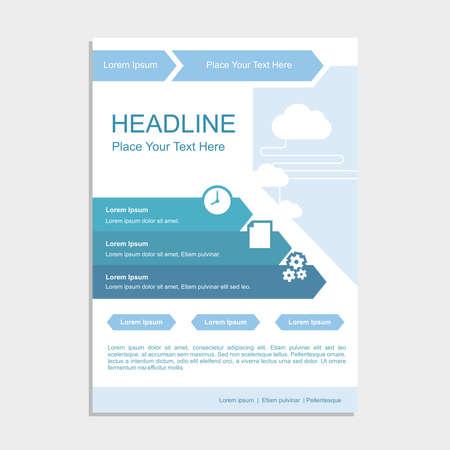 Simple Blue Cloud Proposal