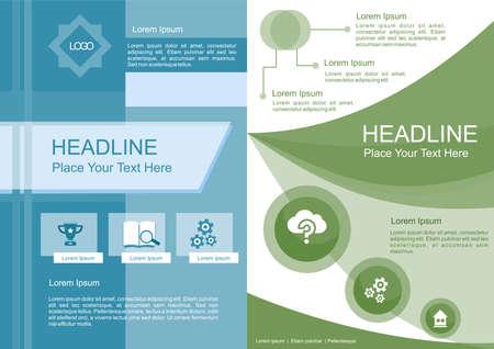 Proposal Template Design Illusztráció