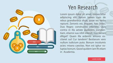 Yen Research Conceptual Banner