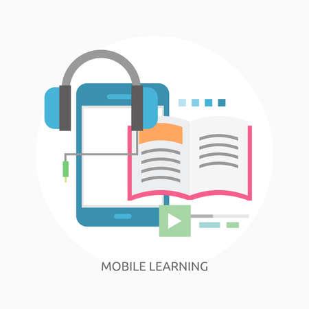 Mobile Learning illustration