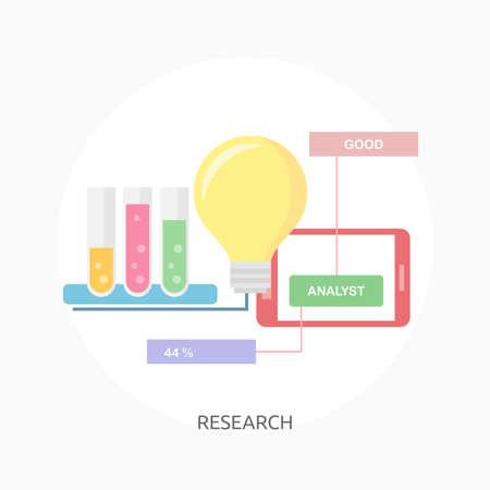 Research illustration Illustration