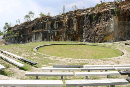 Artificial Tour, Cliff Breccia Field, Tebing Breksi Indonesia | Indonesia Travel 版權商用圖片 - 88716982