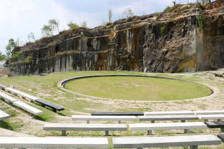 Kunstmatige rondleiding, Cliff Breccia Field, Tebing Breksi Indonesia | Indonesië Reizen