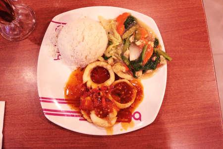 chicken cordon bleu, Indonesia Food  Asian Food Stok Fotoğraf