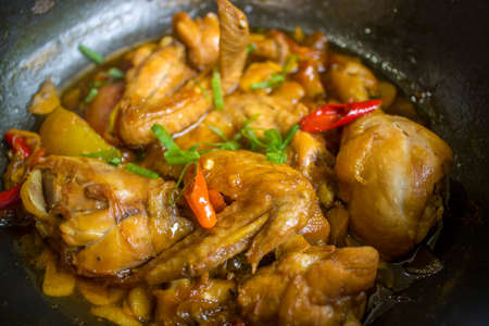 Chicken Soy Sauce, Chicken Food, Indonesian Food | Asian Food
