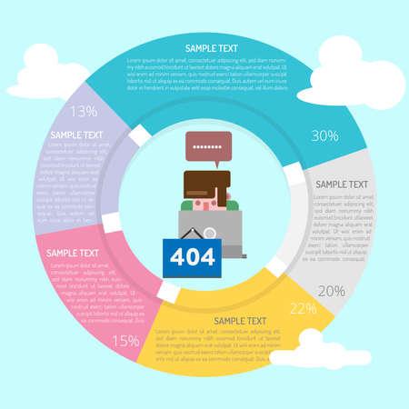 Someone Repair It Infographic Diagram Stock fotó - 90581663