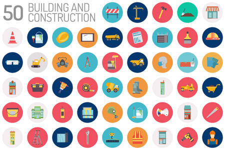 Building and Construction Icon Design