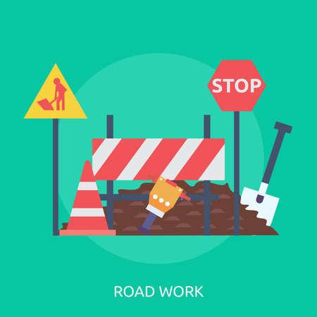Road Work Çizim