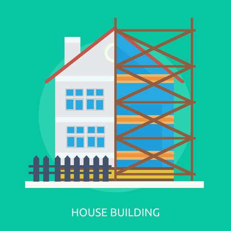 House Building 일러스트