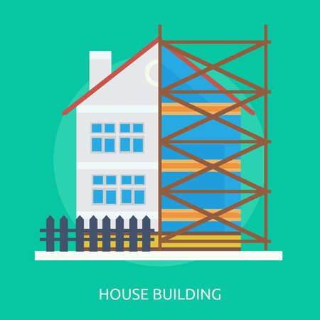 House Building Stock Illustratie