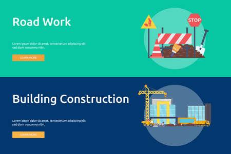Building and construction Çizim
