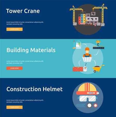 Building and construction Ilustração