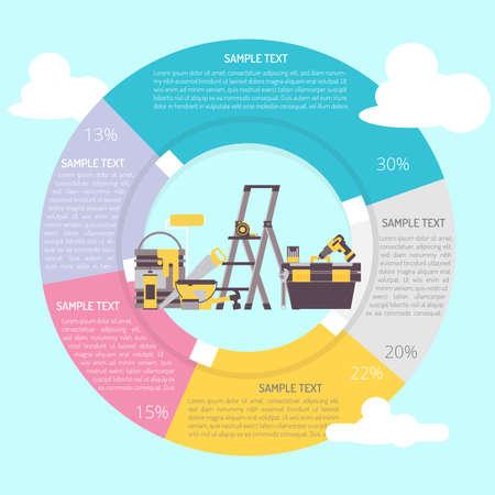 Tools Infographic Diagram