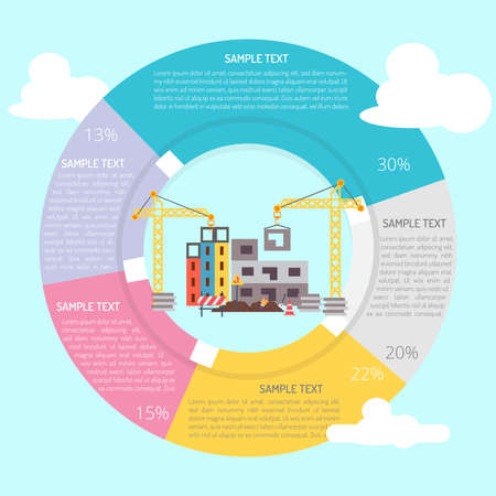 Tower Crane Infographic Diagram