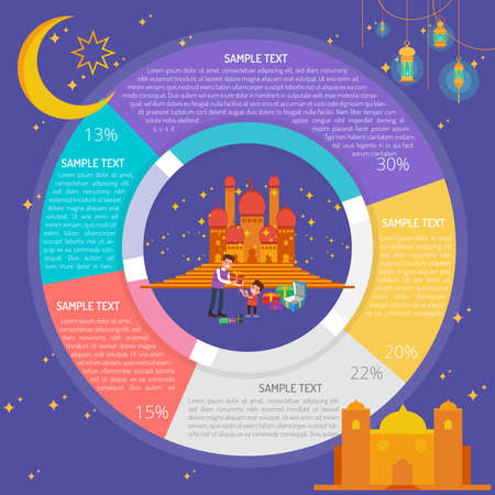 Eid Gift Infographic Diagram
