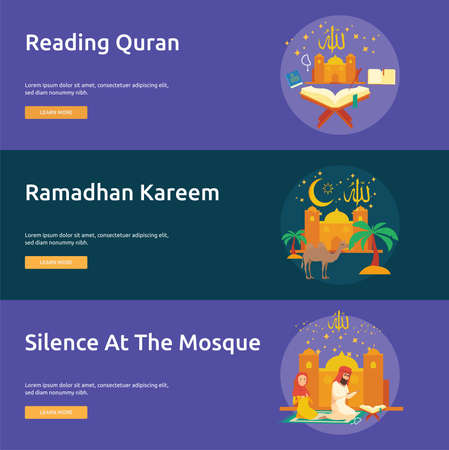 Eid and Ramadhan Banner Design
