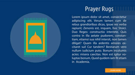 Prayer Rugs Иллюстрация