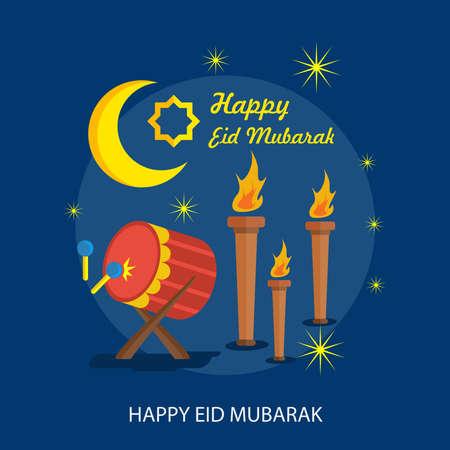 Happy Eid Mubarak flyer