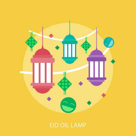 Eid Oil Lamp flyer