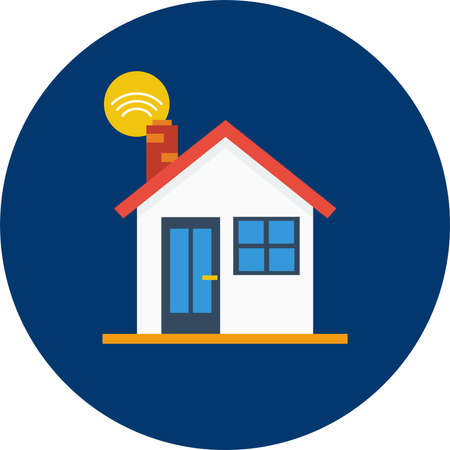 Home vector illustration.