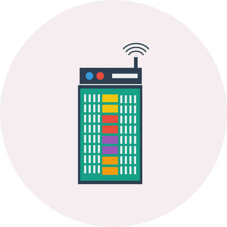 Router vector illustration.