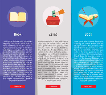 Ramadan Vertical Banner Concept 向量圖像