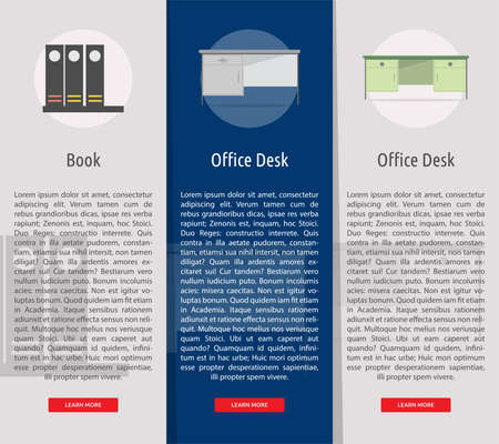 Multimedia Vertical Banner Concept