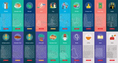 Ramadan Vertical Banner Concept Standard-Bild - 102577204