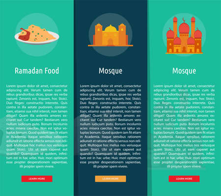 Ramadan Vertical Banner Concept Çizim