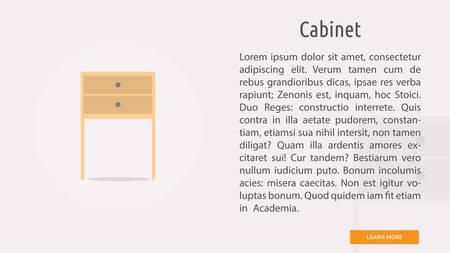 Cabinet Ilustracja