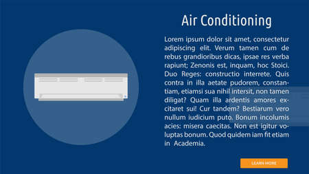 Air Conditioning illustration