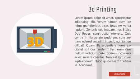 Printing illustration 일러스트