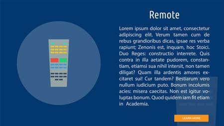 Remote illustration Иллюстрация