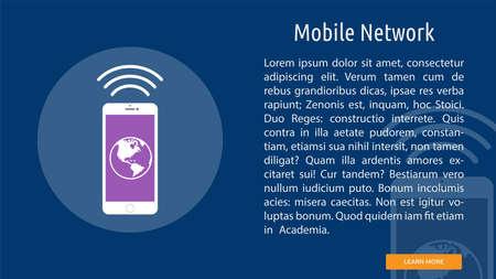Mobile Network Illusztráció