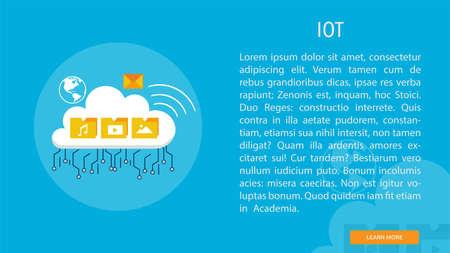 IOT chip icon