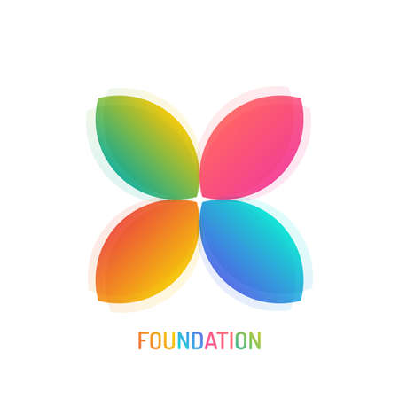 Foundation  Design with gradient color