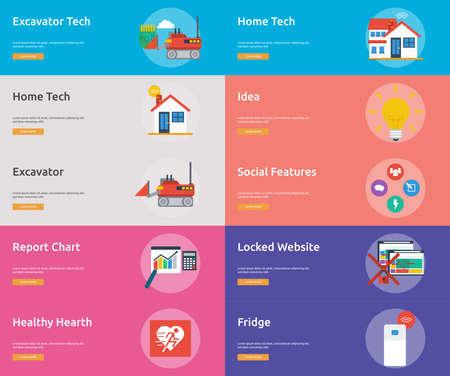 Technology Banner Design 向量圖像