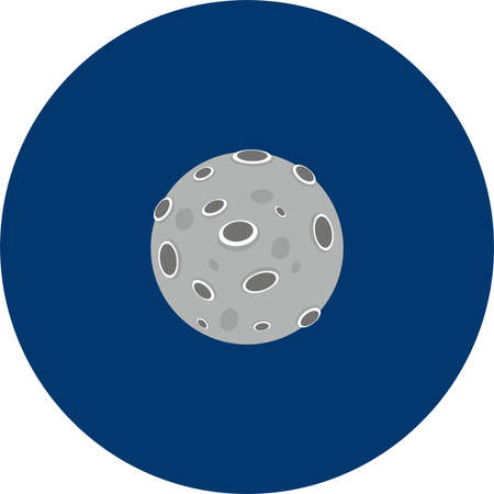Planet vector illustration
