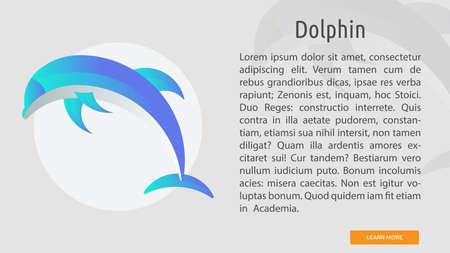 Dolphin Conceptual Banner