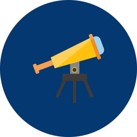 Telescope Icon Design