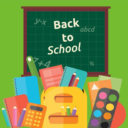 Back to School Stock Illustratie