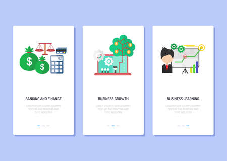 Landing Page Business and Finance